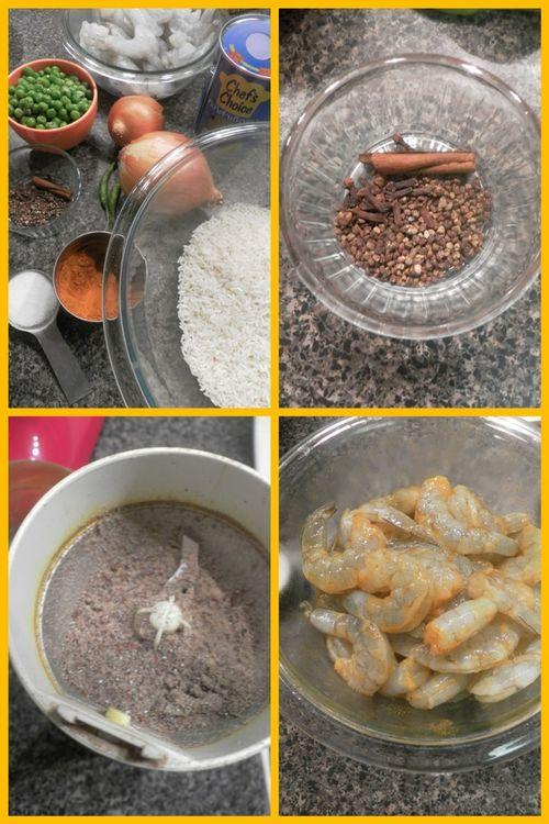 Prawn & Peas Pulao-collage1