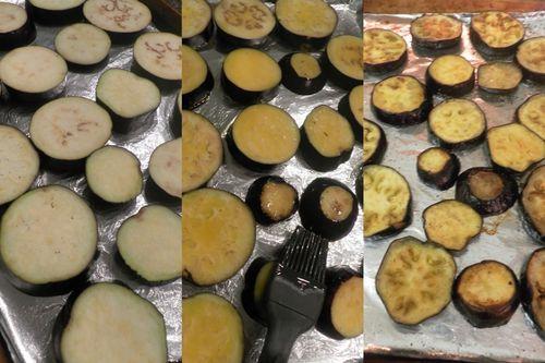 Eggplant Parmigiano - collage 2