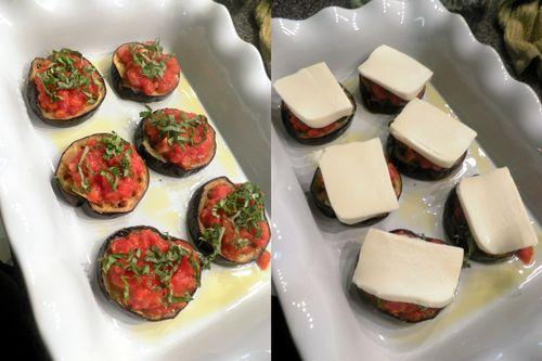 Eggplant Parmigiano - collage 4