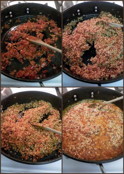 Lobster saffron risotto-collage3