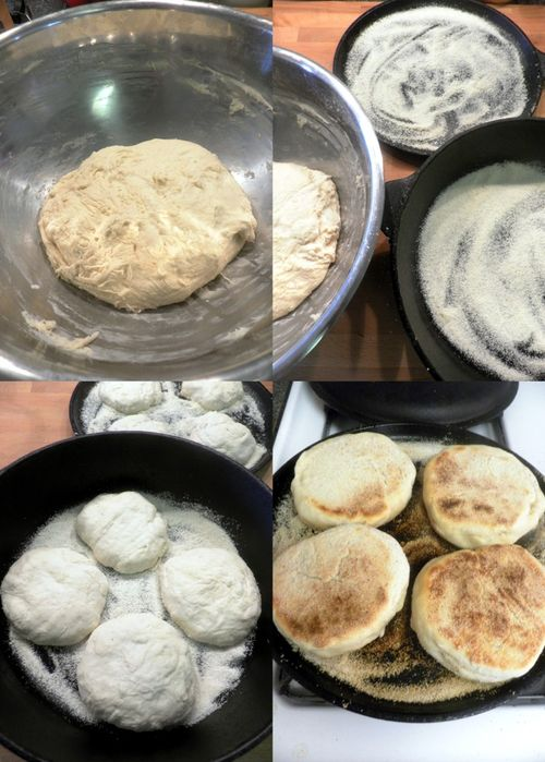 English muffin - collage 4