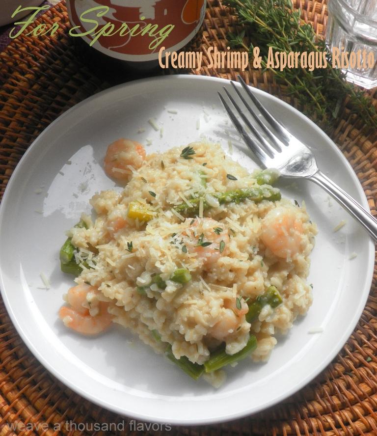 Asparagus & shrimp risotto-2