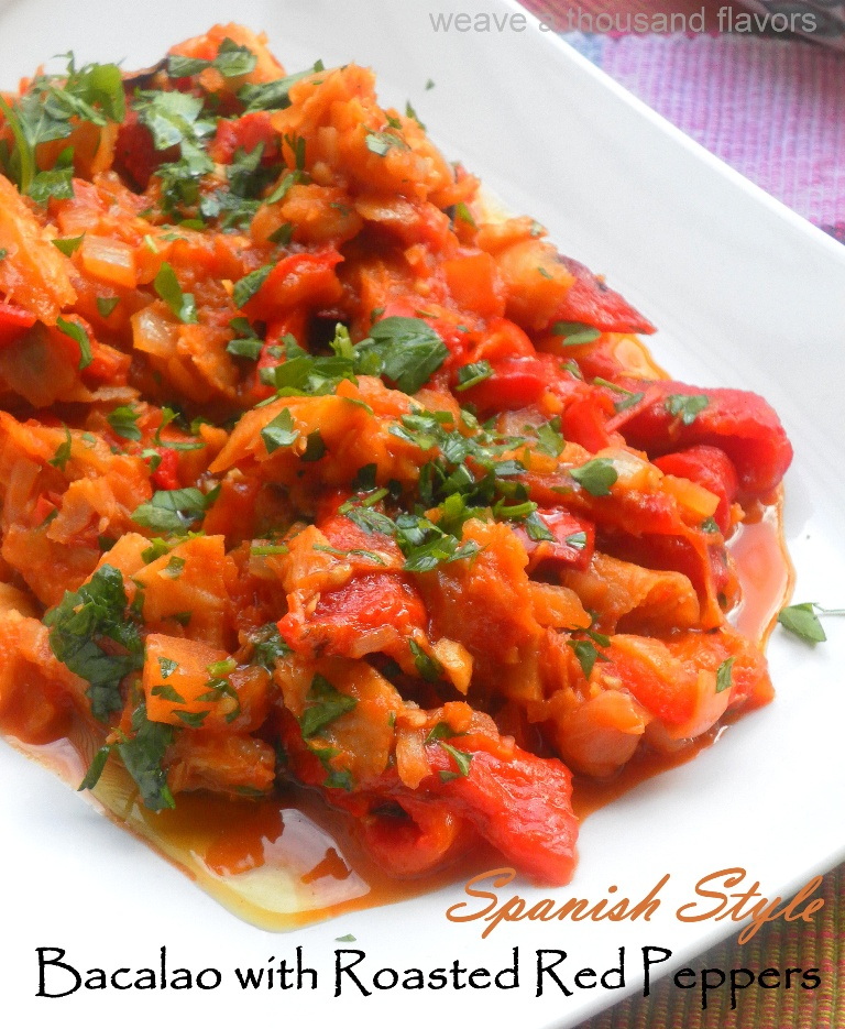 Bacalao with red peppers-02