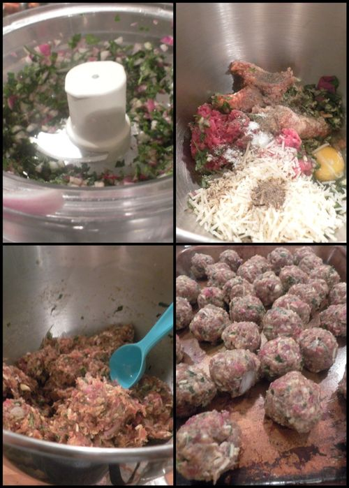 Italian wedding soup - collage 2