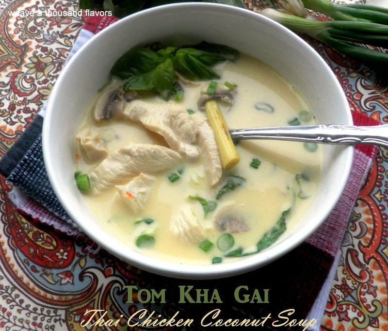 Thai chicken coconut soup-02