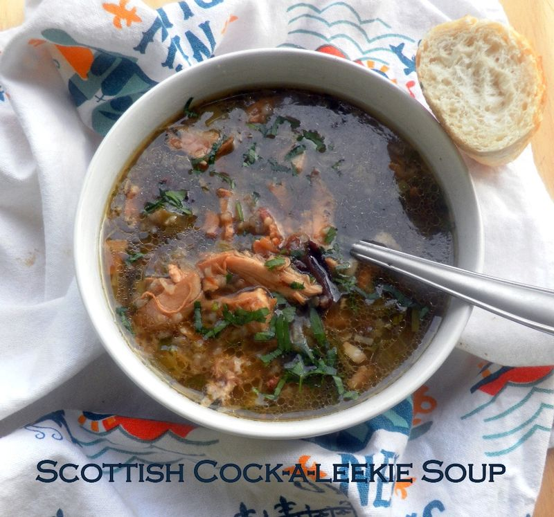 Cock-a-leekie soup-01