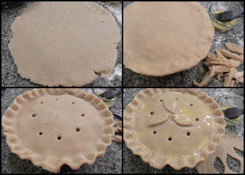 Ham and pork pie-collage5