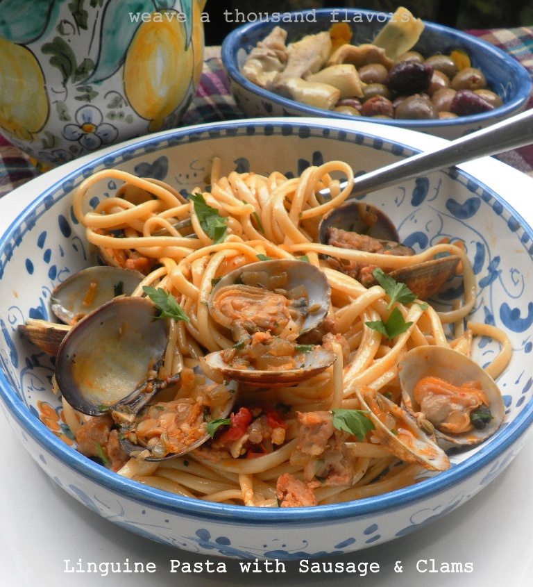 manila clam and sausage recipe linguine with manila linguine and clams ...