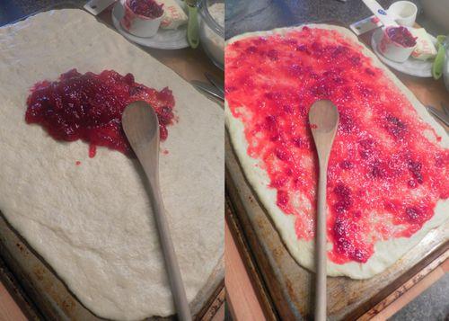 Cranberry orange rolls-collage03
