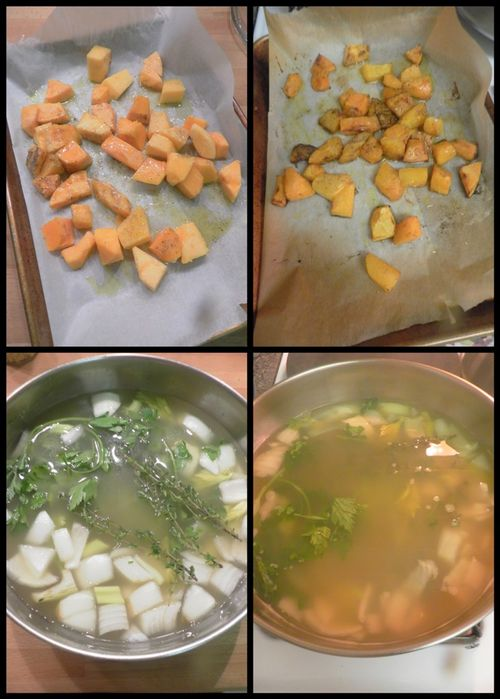 Risotto with butternut squash-collage1