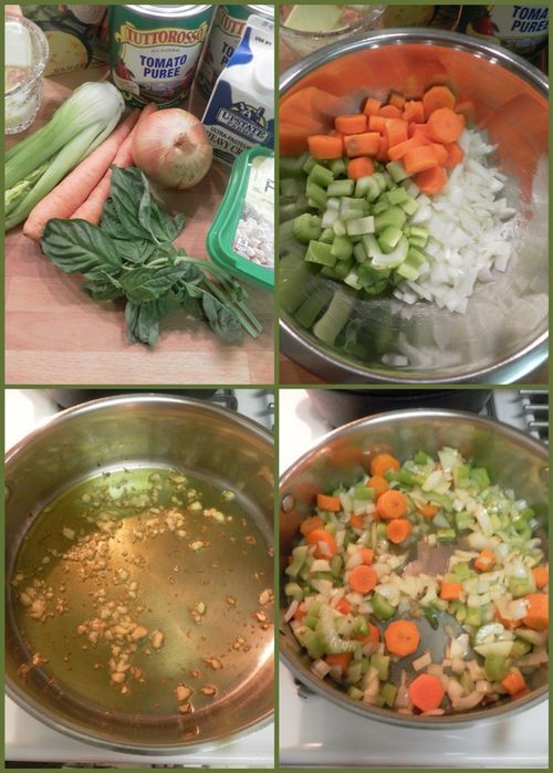 Tomato basil soup-collage1