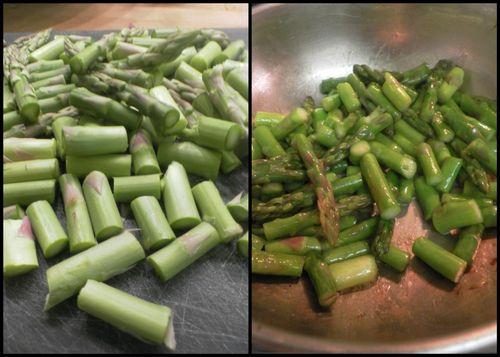 Shrimp asparagus risotto-collage4