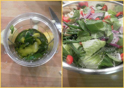 Tuscan summer salad-collage3