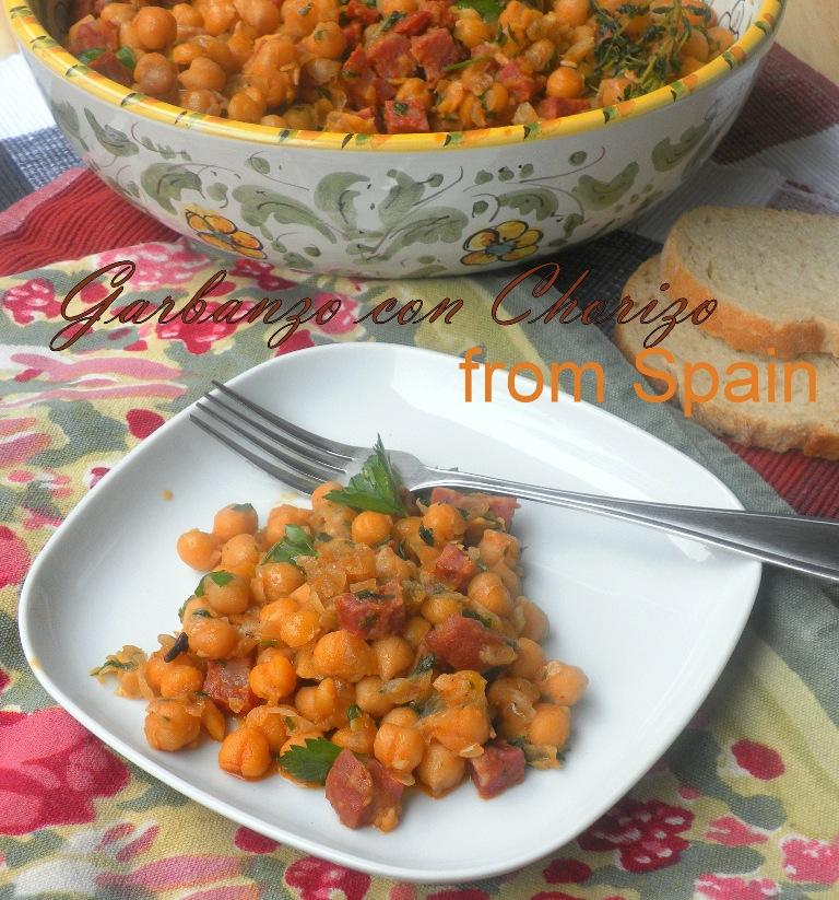 Garbanzos con Chorizo - 01
