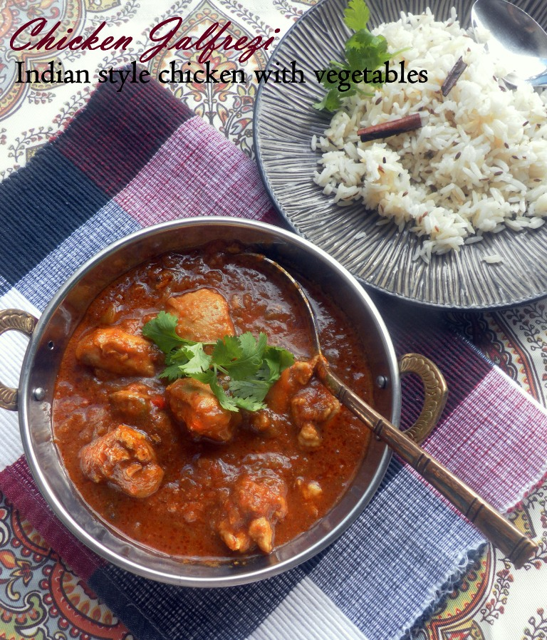 Indian Style Chicken Jalfrezi Weave A Thousand Flavors