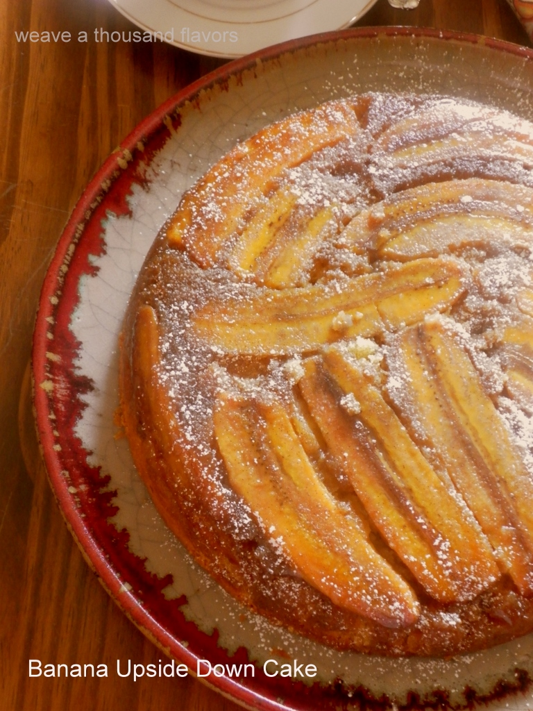 Banana upside down cake-02 (768x1024)