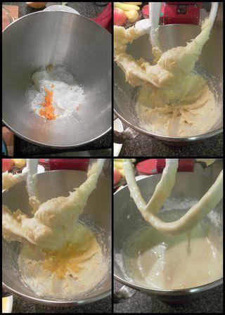 Hazelnut cake-collage2