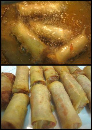 Vietnamese Spring rolls-collage7