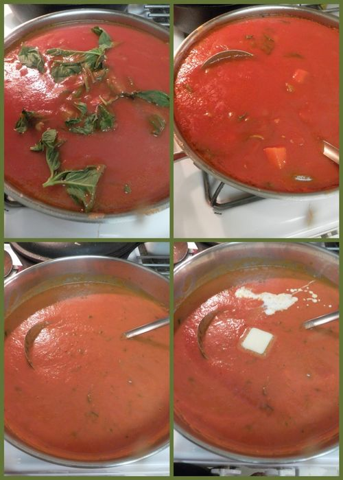 Tomato basil soup-collage3