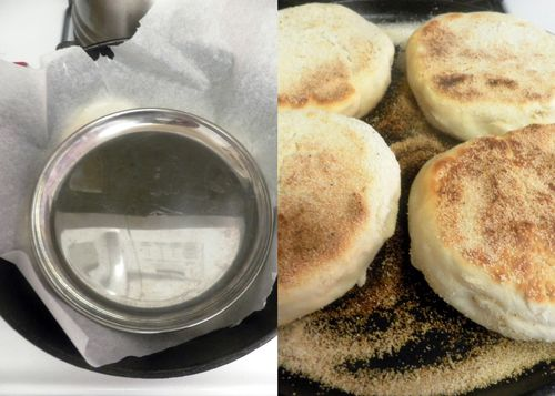English muffin - collage 5