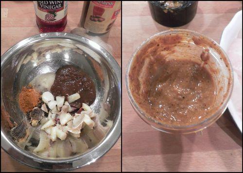 Goan fried fish Recheado-collage1