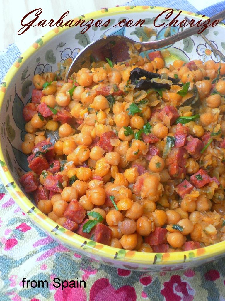 Garbanzos con Chorizo - 02