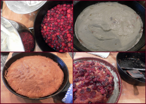 Cranberry upside down cake-collage3 (1024x731)