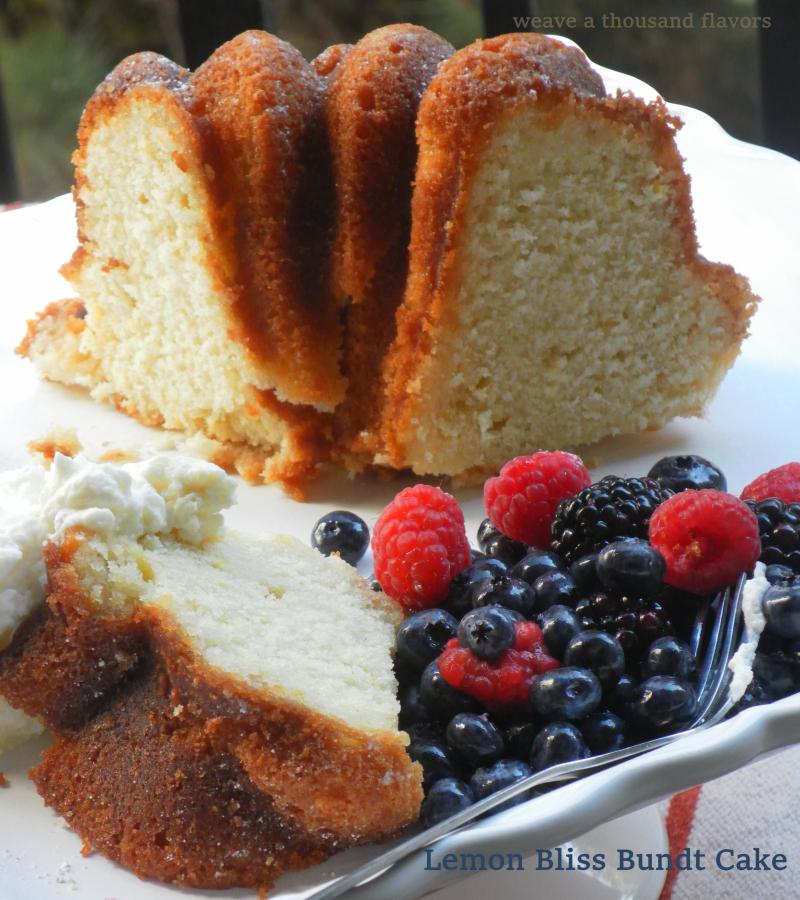 Lemon Bundt Cake-3